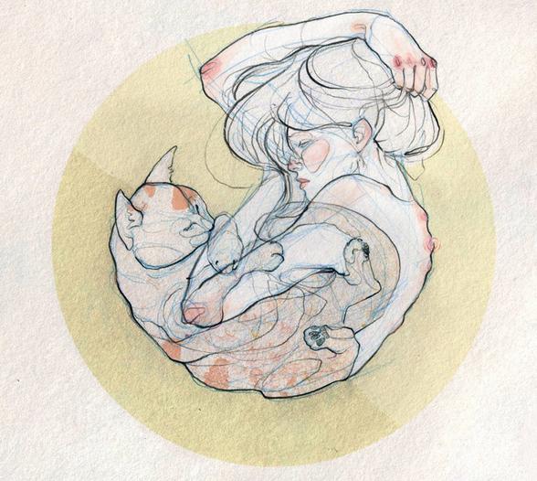 ladies and felines.2