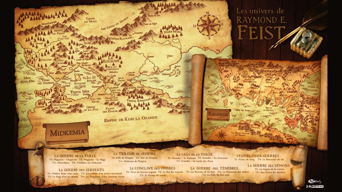 Magicien : L'apprenti (Les Chroniques de Krondor #1) - Raymond E. Feist